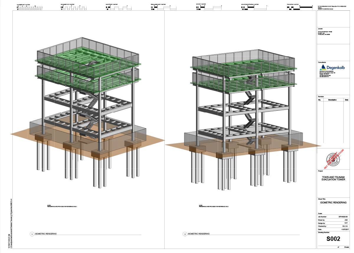 Tokeland Tsunami Tower Conceptual Design