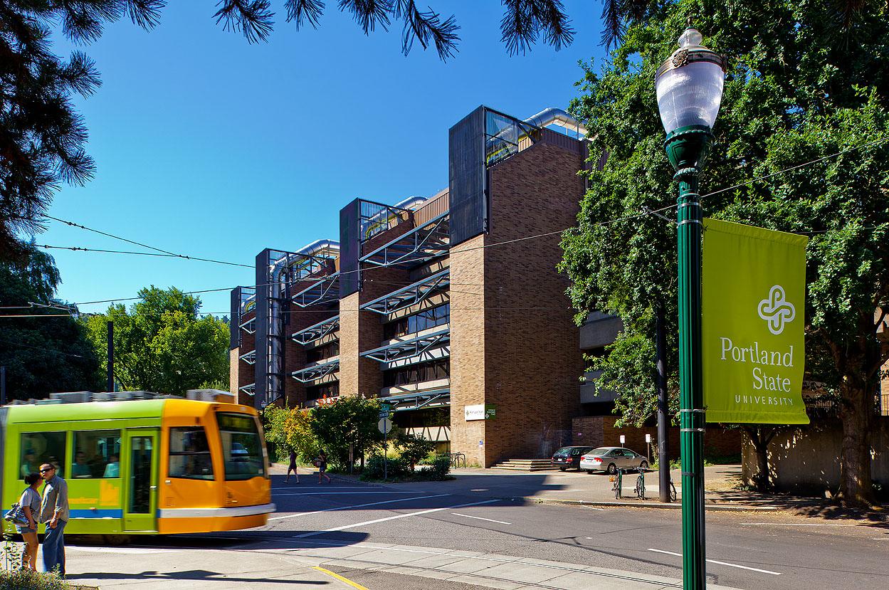 Portland State University, SRTC Building