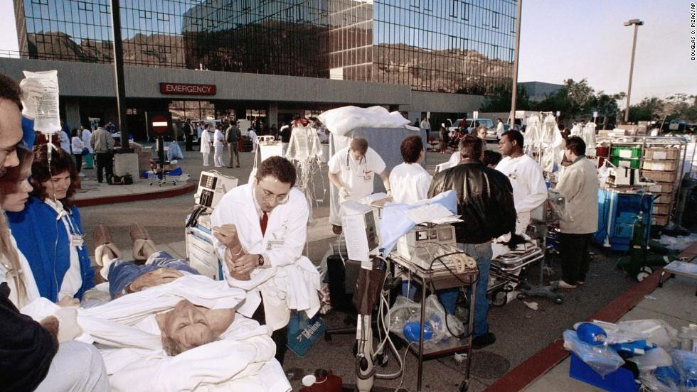 Hospital-Northridge Earthquake