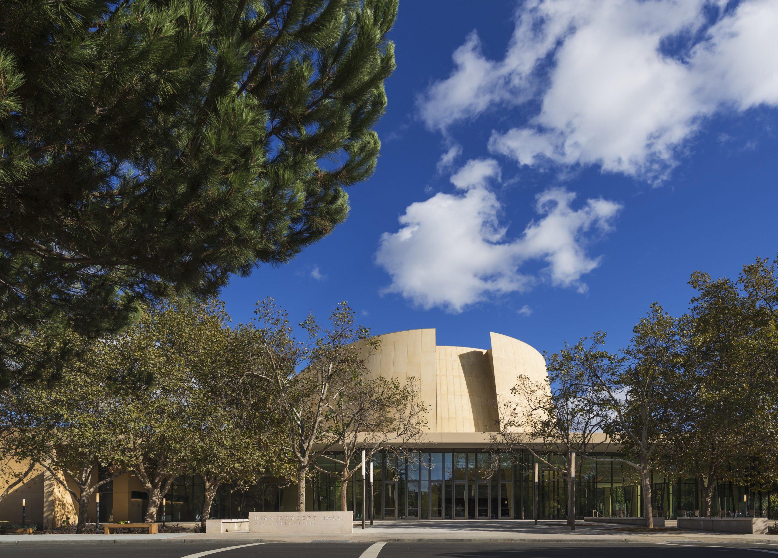 Bing Concert Hall, Stanford University, Stanford, California,