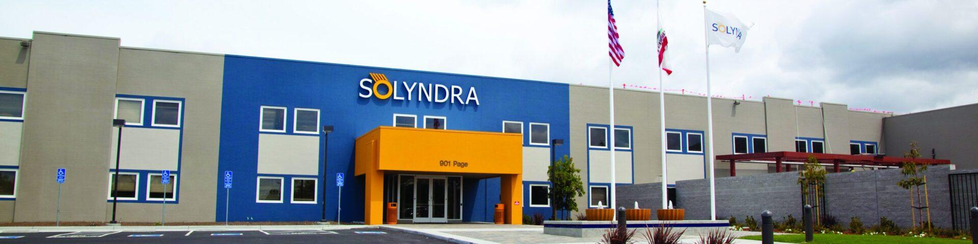 Solyndra Solar Plant